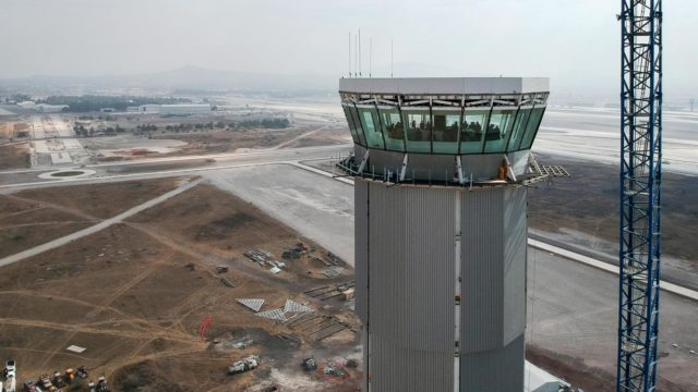 AMLO new airport 128% over budget
